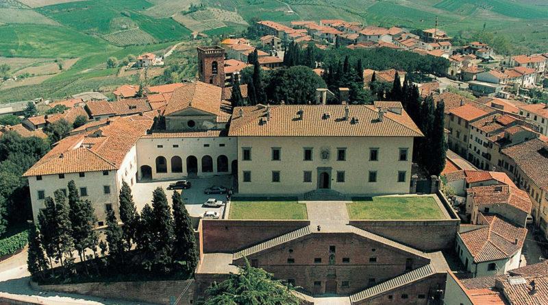 Visita a casa dei medici visita guidata alla villa di for Casa classica villa medici
