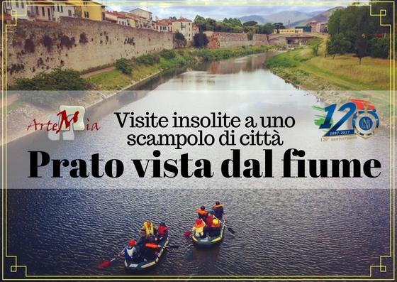 Visita: Prato vista dal fiume… Visite insolite a uno scampolo di città!