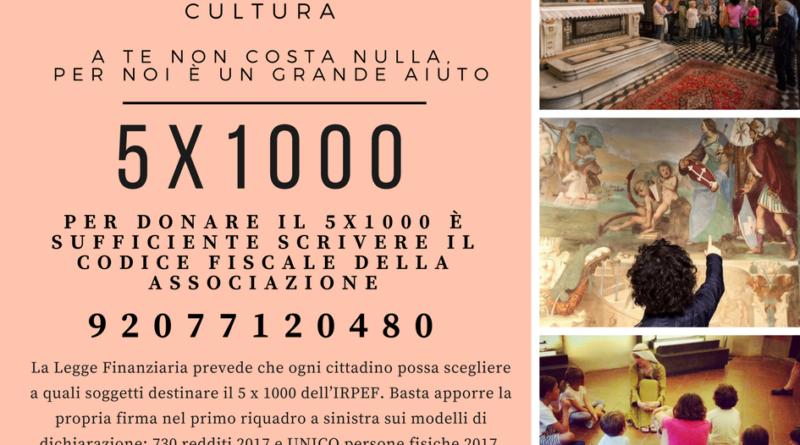 Puoi devolvere il tuo 5×1000 ad ArteMìa! A te non costa nulla, per noi è un grande aiuto.
