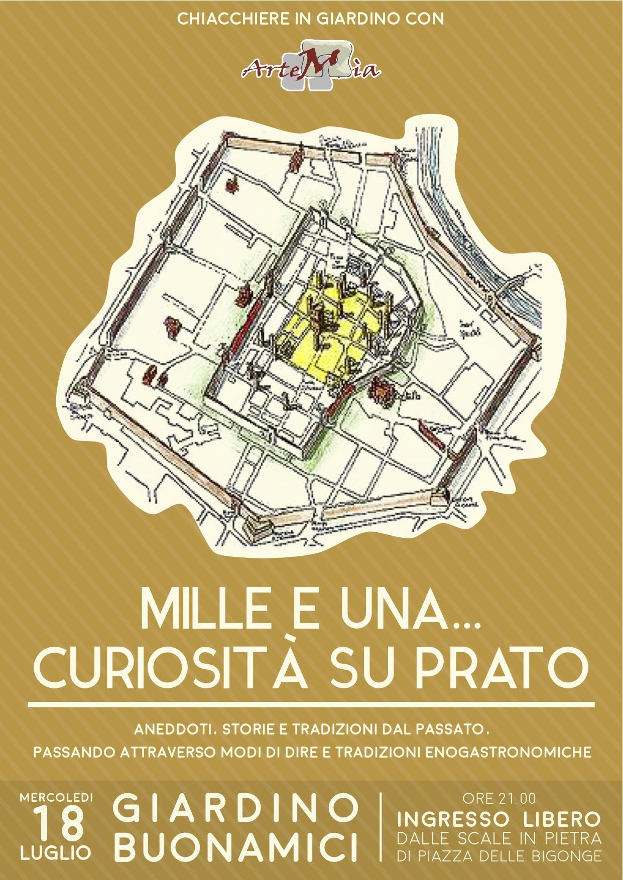 CHIACCHIERE IN GIARDINO CON ARTEMIA… Mille e una… curiosità su Prato.