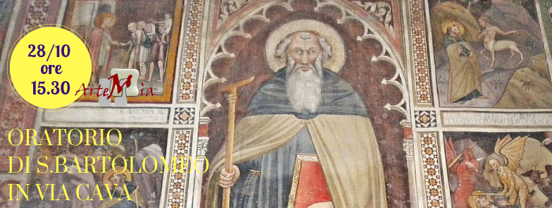 Visita: ALL'ORATORIO DI SAN BARTOLOMEO IN VIA CAVA