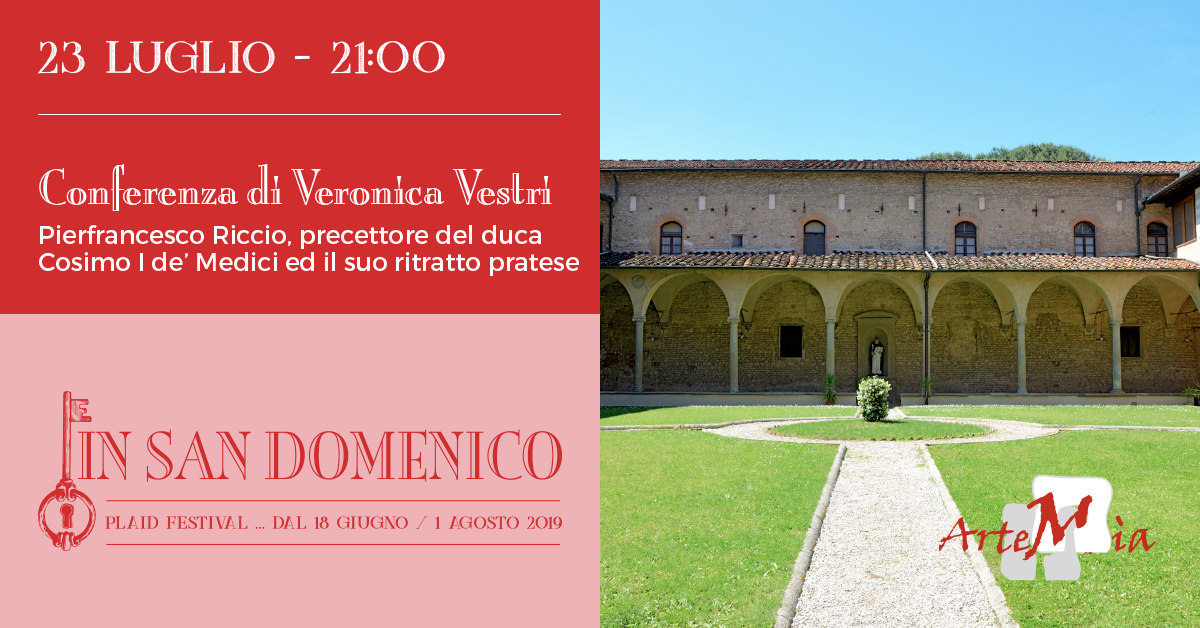 Conferenza: Pierfrancesco Riccio, precettore del duca Cosimo I de' Medici ed il suo ritratto pratese