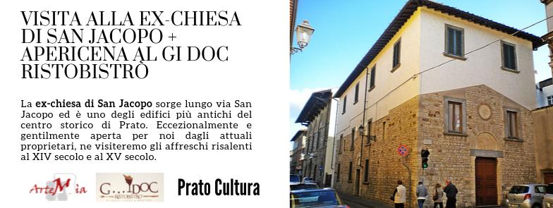 VISITA: LA CHIESA DI SAN JACOPO + APERICENA AL GI DOC RISTOBISTRÒ!