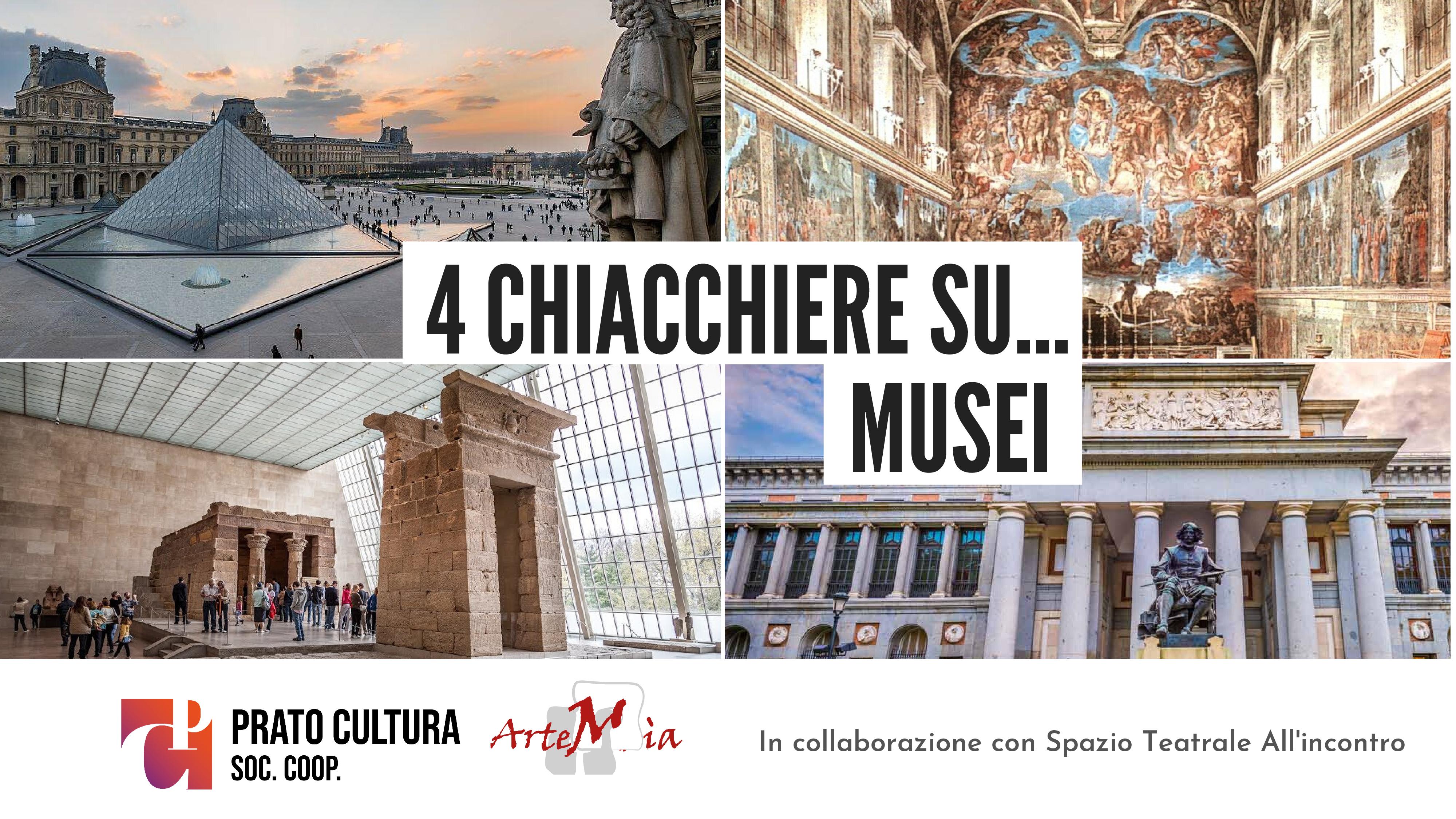 4 CHIACCHIERE SU... Il Museo del Louvre