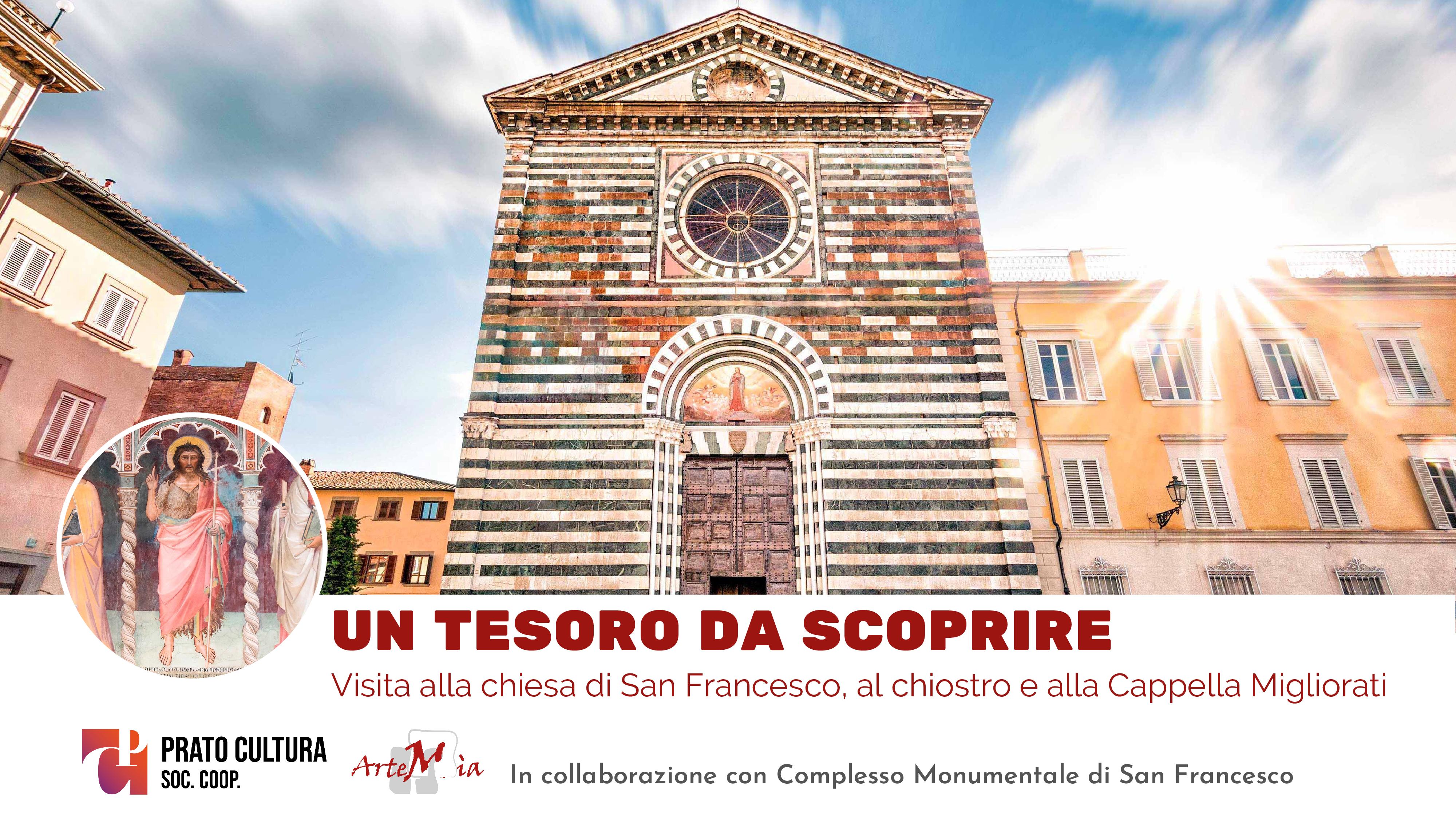 Visita: UN TESORO DA SCOPRIRE - La Chiesa di San Francesco, il chiostro e la Cappella Migliorati