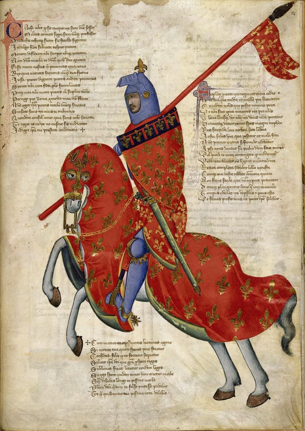 Conferenza: Il cavaliere giostrante.  Armature e vestiario nel Medioevo e Rinascimento pratese.