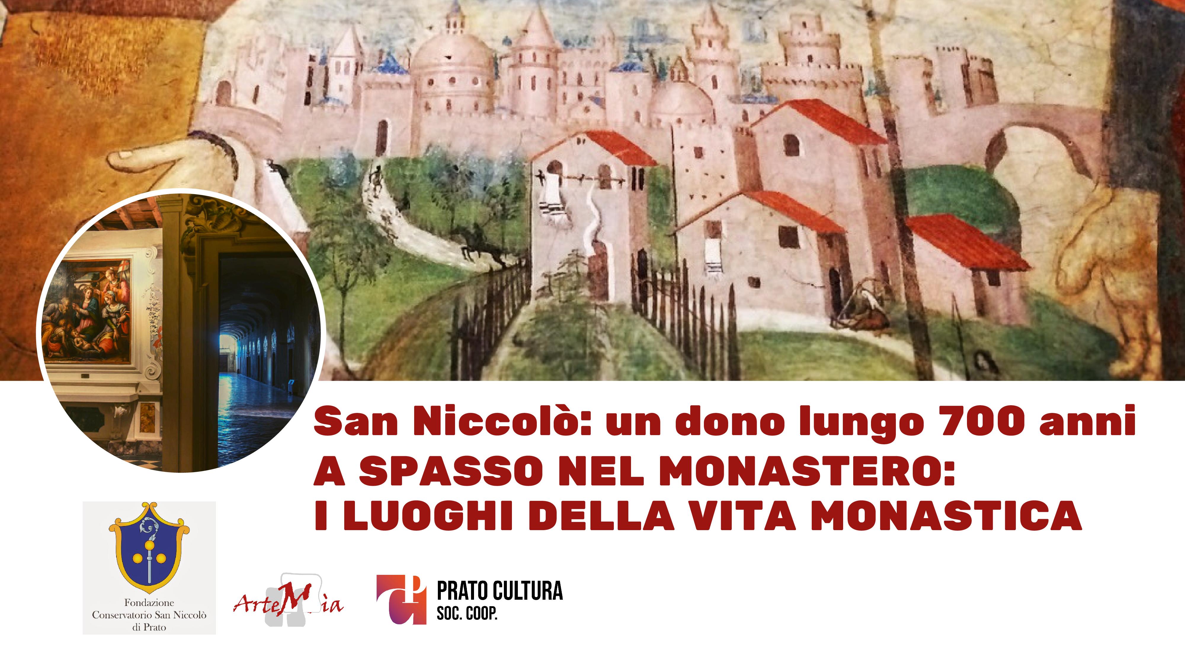 Visita: A spasso nel monastero: i luoghi della vita monastica