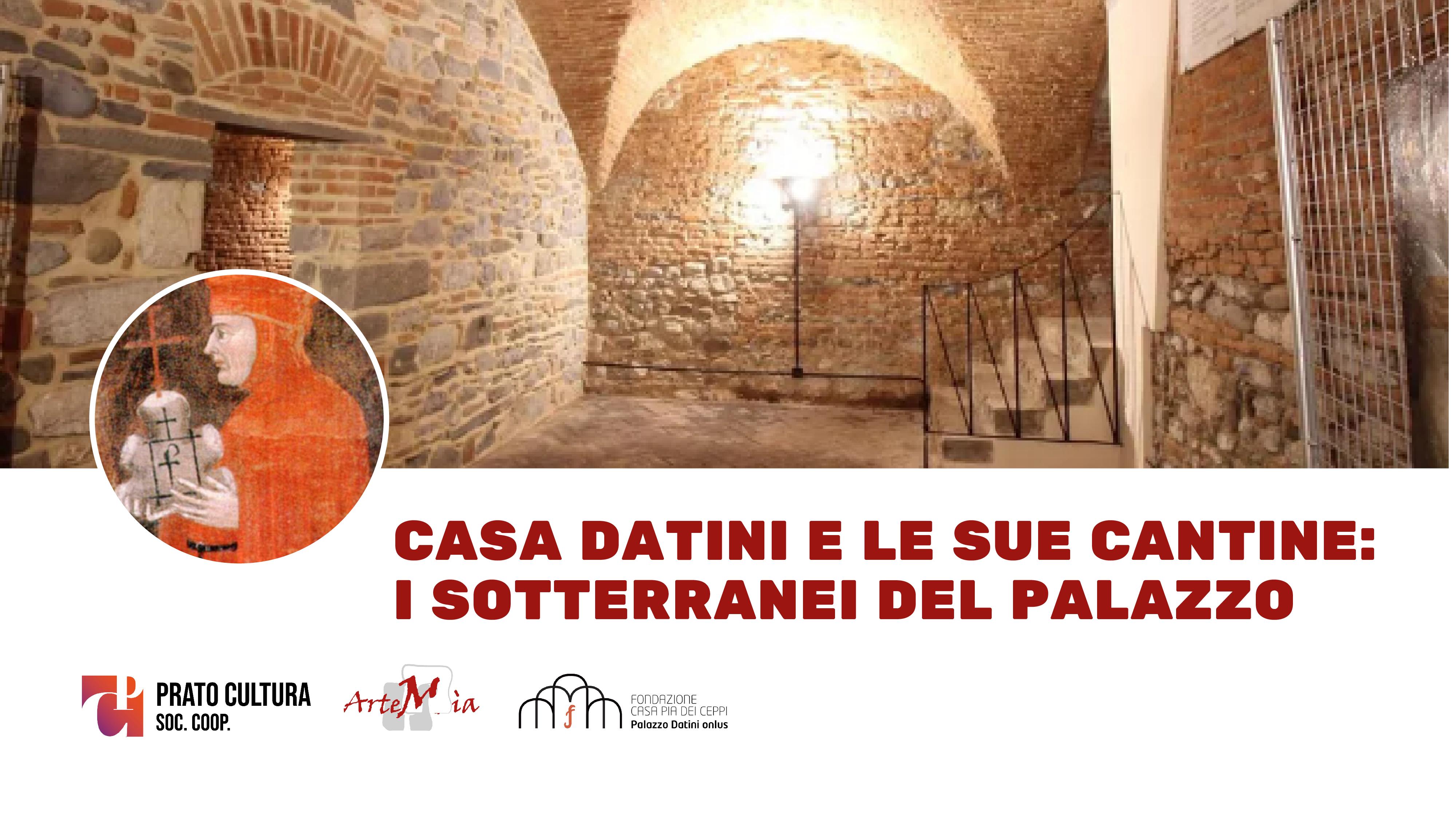 Casa Datini e le sue cantine: i sotterranei del palazzo da poco restaurati.