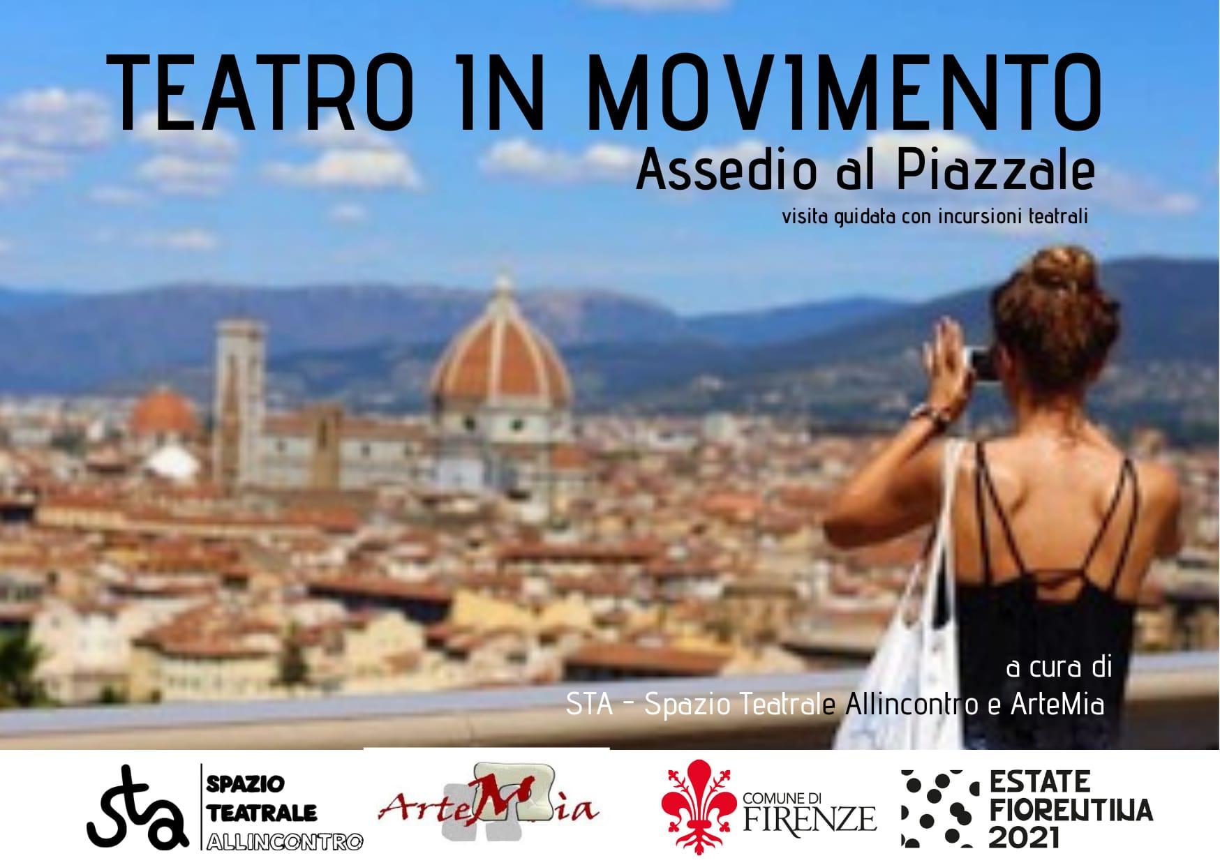 MuoviTi – Metti il teatro in movimento // Assedio al Piazzale